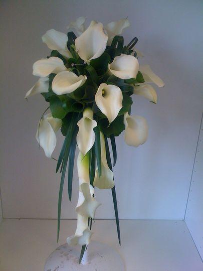 White call bouquet