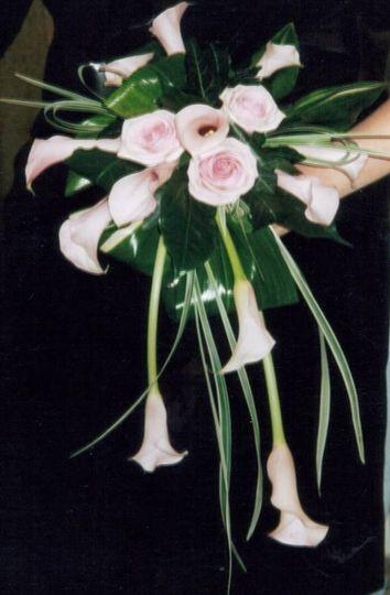 Pink call bouquet