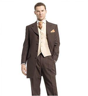 Prince Edward Suit Brown