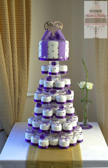 Mini Cake Tower