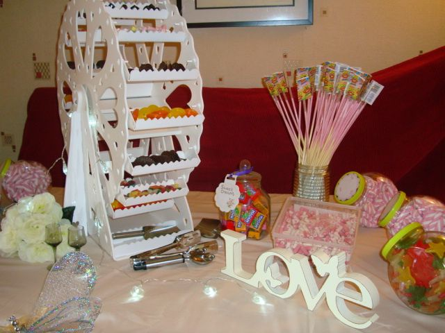 Sweet buffet for hire