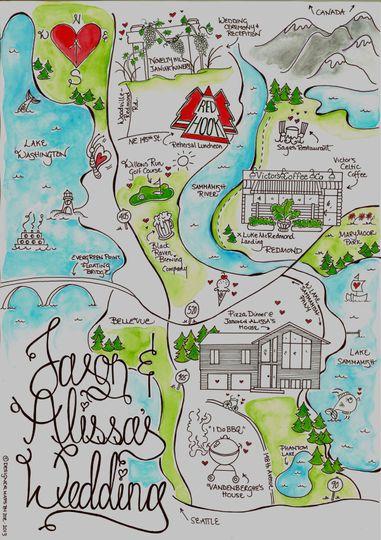 Pretty on Paper- Designer Maps by Zoe