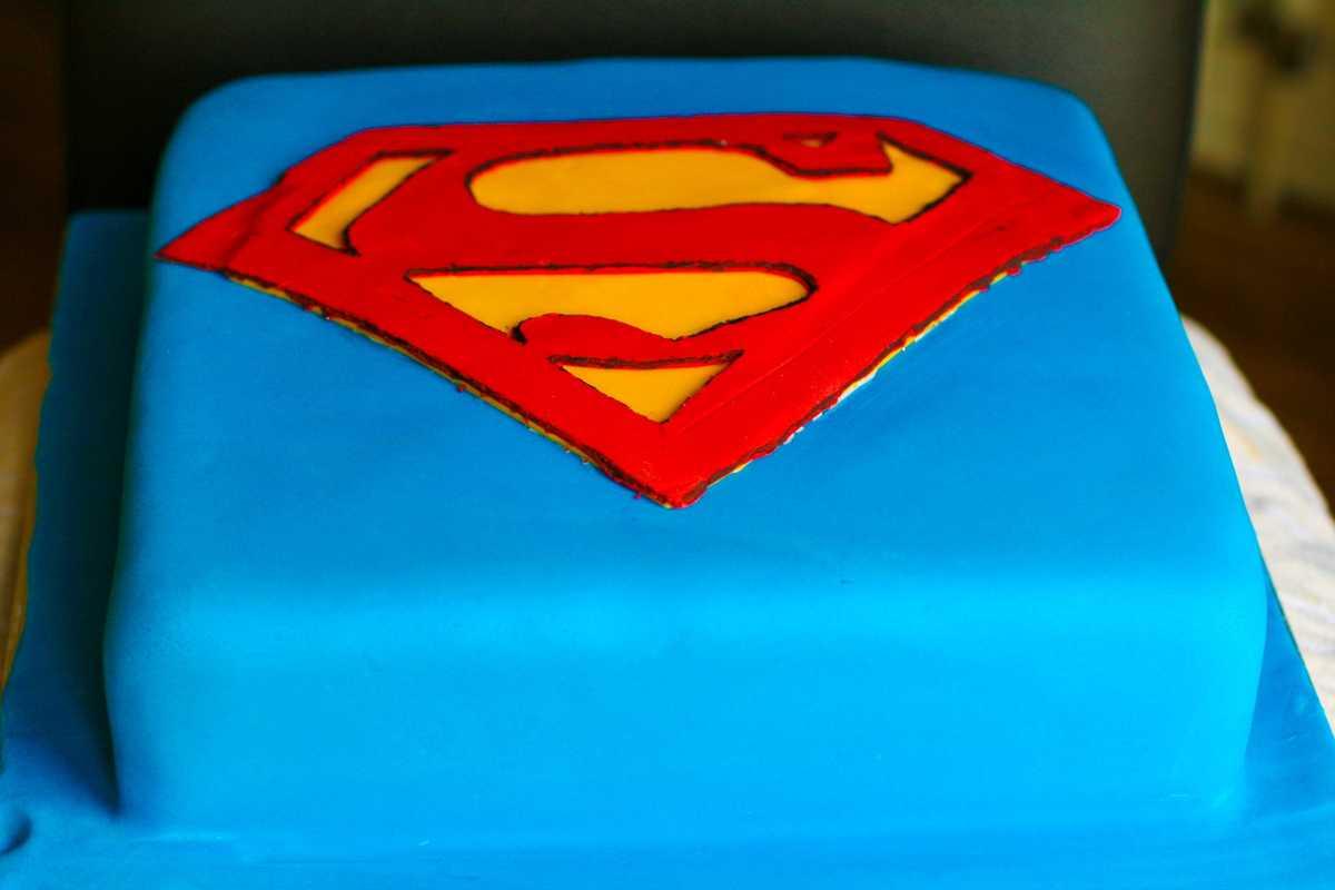 Surprising Superman Birthday Cake From My Wee Cake Photo 3 Funny Birthday Cards Online Necthendildamsfinfo