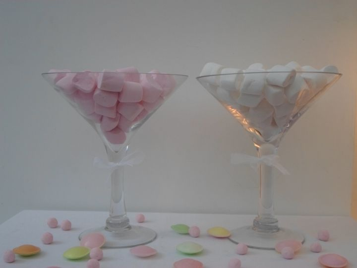 Candy buffet glasses