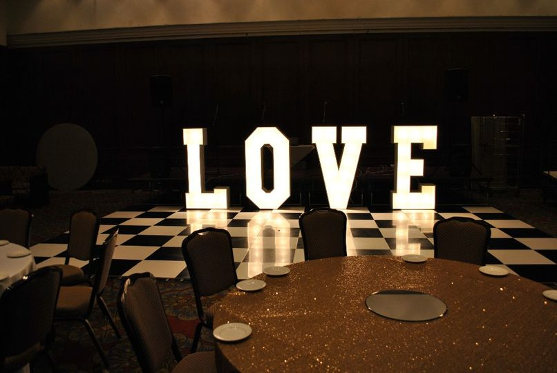 Letter light Hire