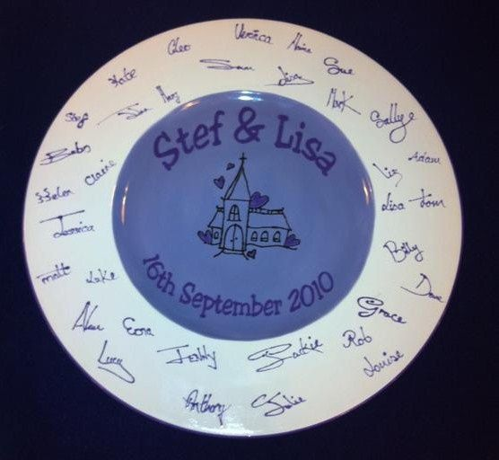 Brenig Guest Plate