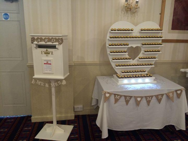 Post box, Ferrero rocher heart