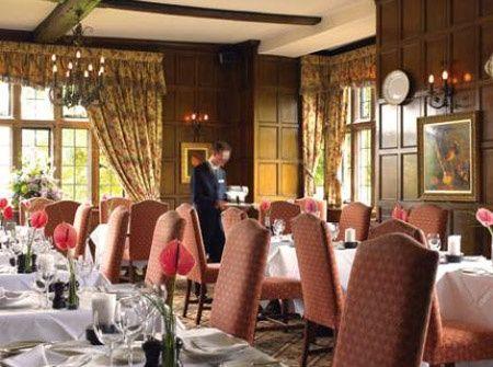 Billesley Manor restaurant