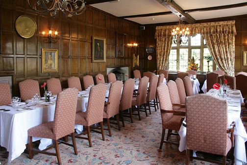 Billesley Manor banquet