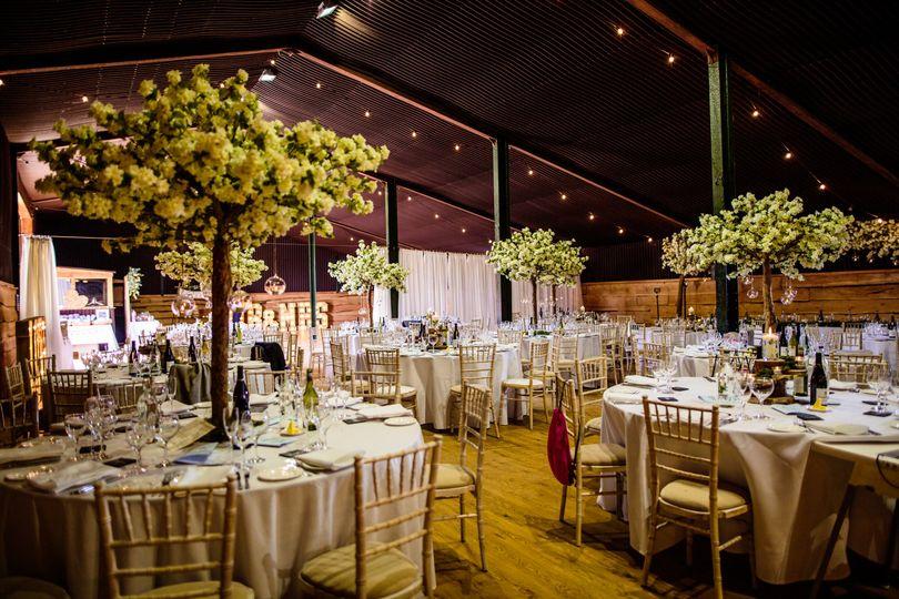 Indoor Barn Weddings