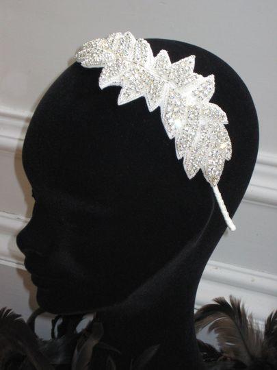 Hollywood side tiara