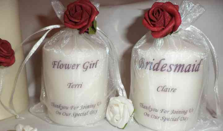 Personalised bridesmaid