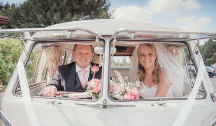 VW Classic Wedding Cars 1