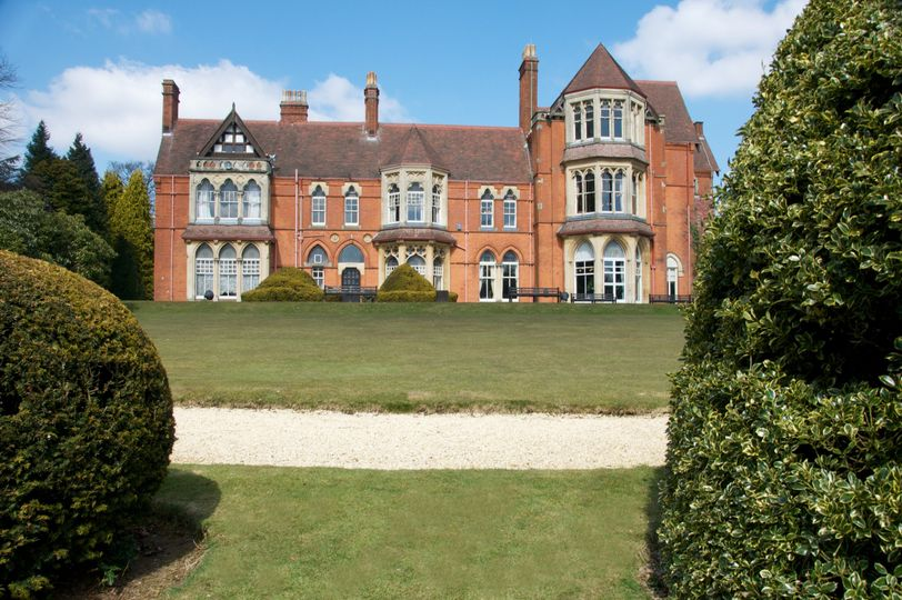 Highbury Hall from the grounds