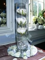 Foam Roses centre piece
