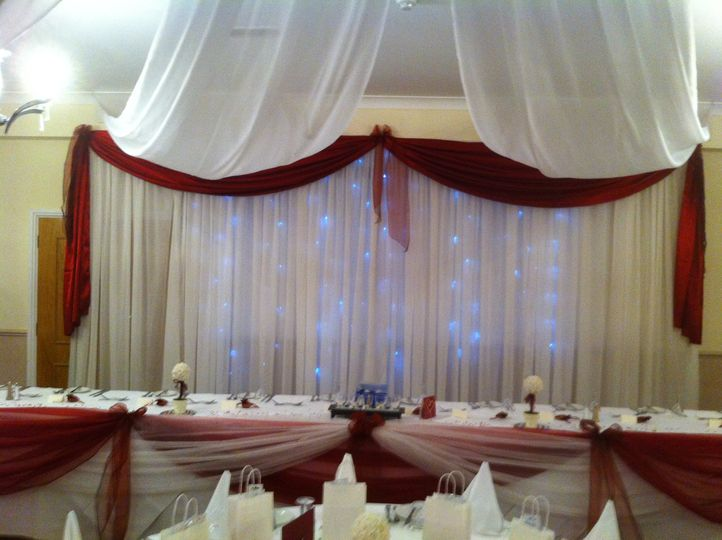 Starlight backdrop for hire £150.00