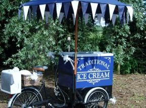 Stop and buy ice cream trike