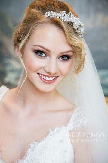 Bridal makeup by Chloe McCall