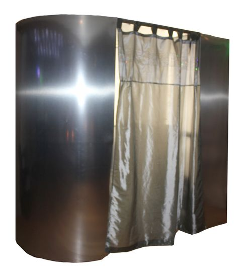 Silver Photo Booth