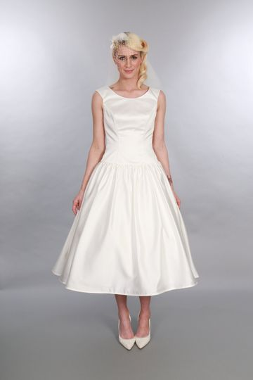 Calf Length Bridal Gown Audrey
