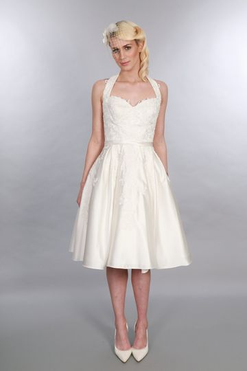 Tea Length Bridal Gown Eliza