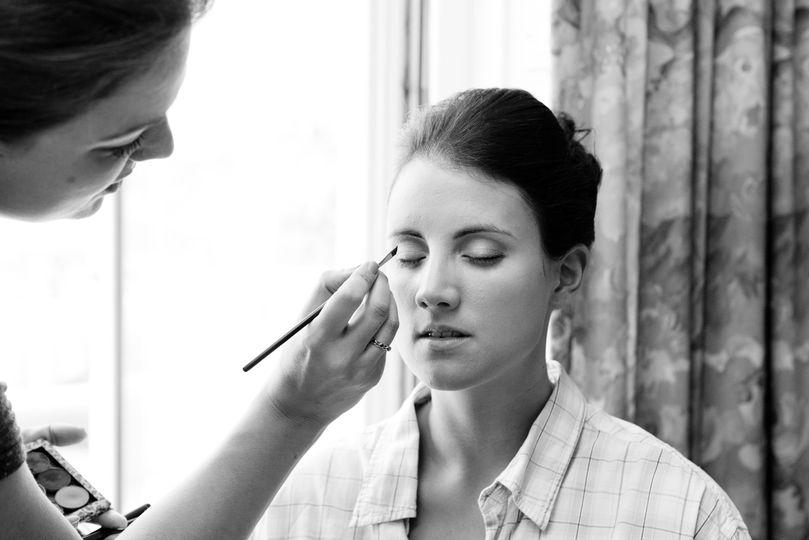 Flawless bridal make up