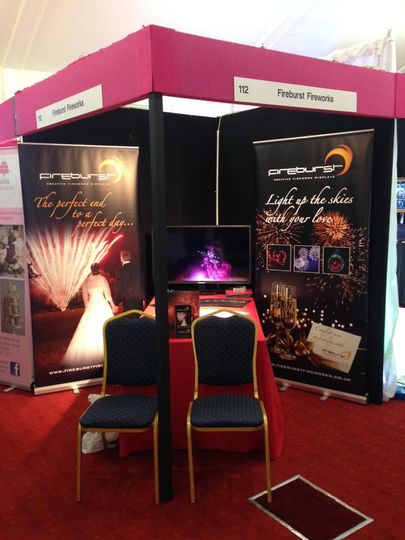 Our stand at ascot.