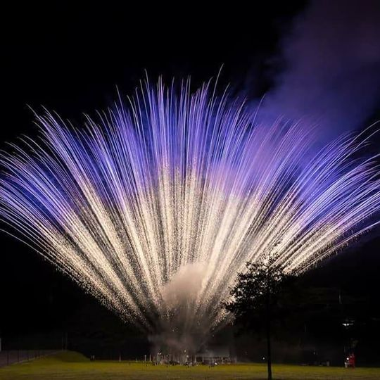 One of our awesome fireworks