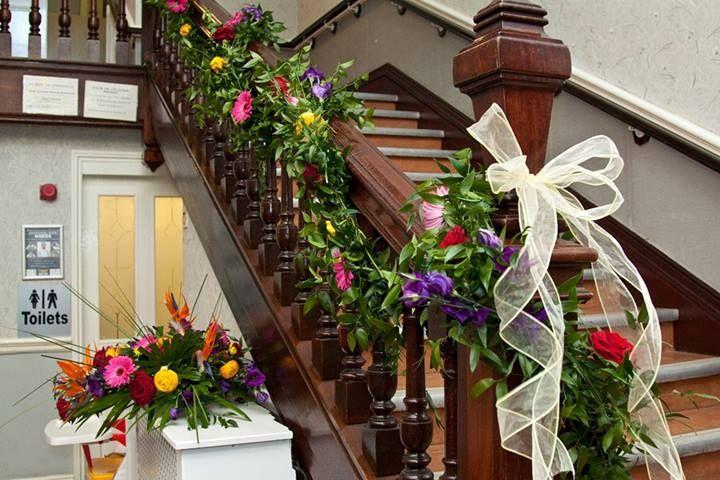 Exotic venue decoration