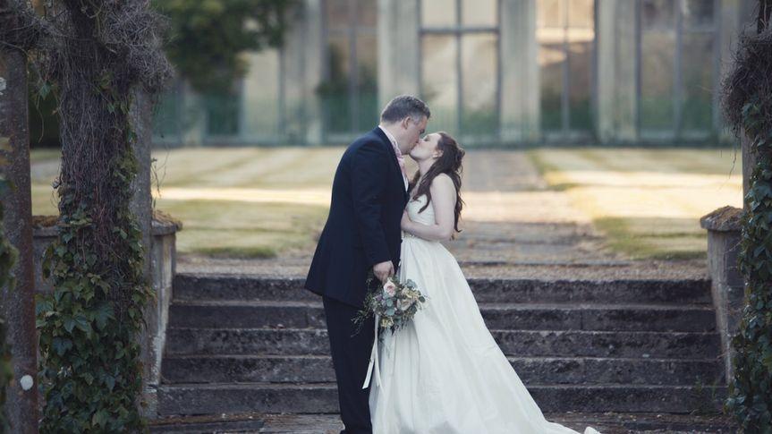 Still from wedding video 6