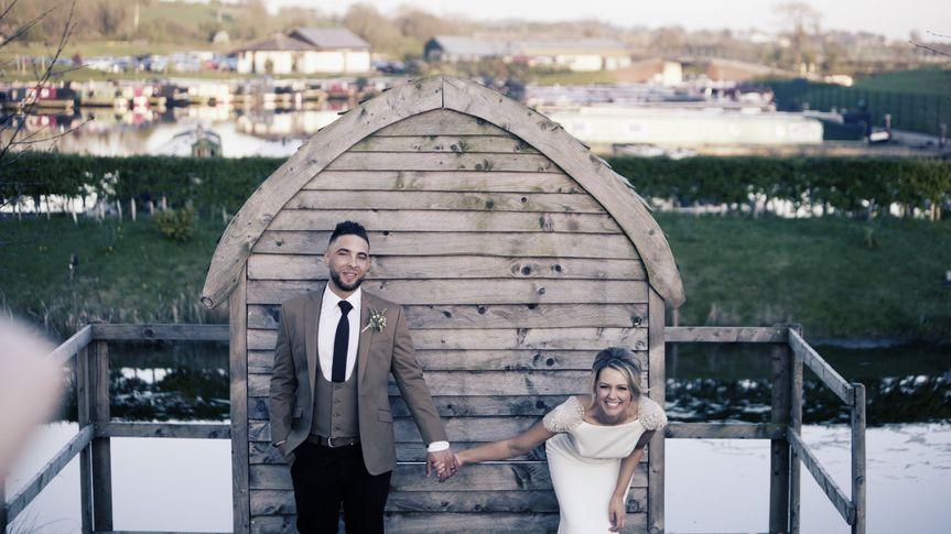 Still from wedding video 7