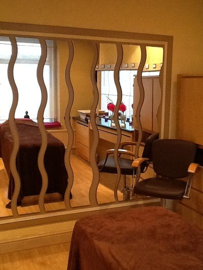 Relaxing treatment rooms