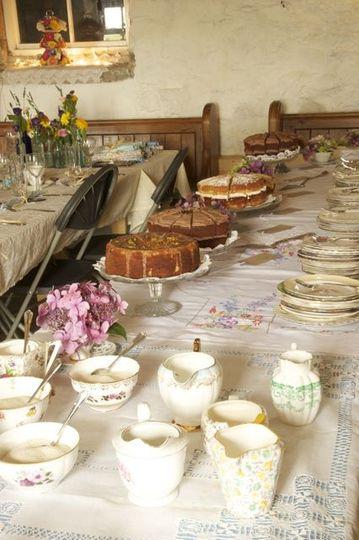 Afternoon Tea Wedding Vintage And Cake