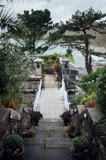 Step across drawbridge to Fort