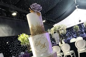 Sugar Lace and Flower Luxury Cakes