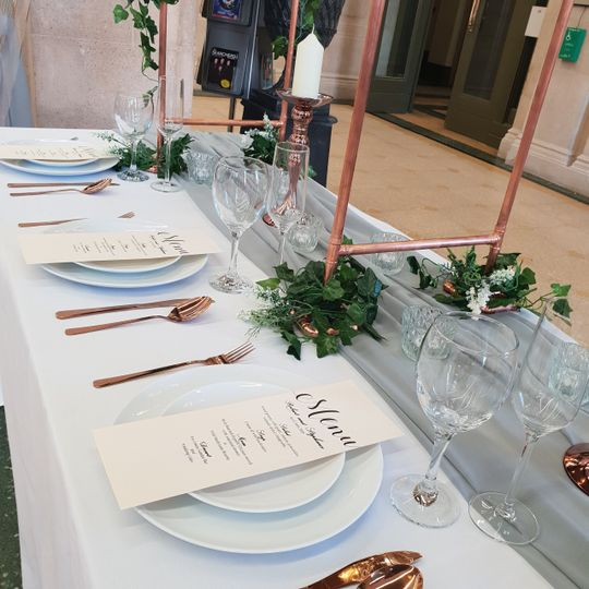 Top Table Setting
