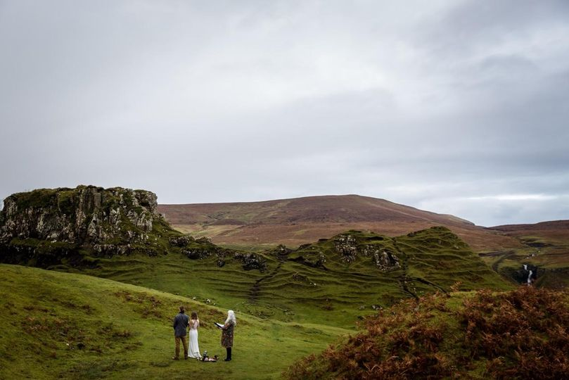 Handfasting at the Fairy Rings