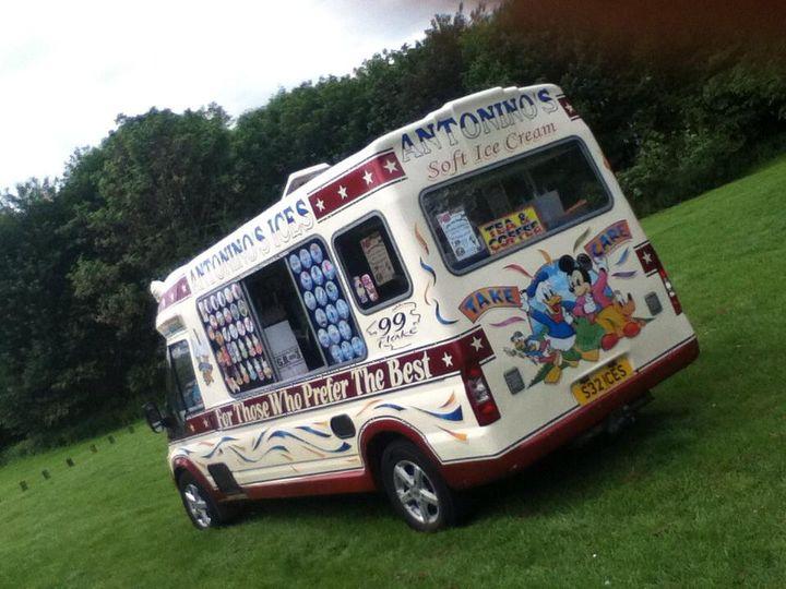 Ice cream van for hire