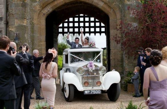 1934 Vintage Wedding Car