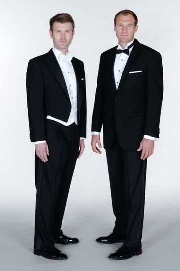 Dinner suit and evening tails