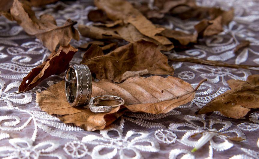 Wedding Ring Autumn Wedding
