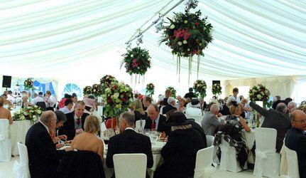 Hagley Hall banquet