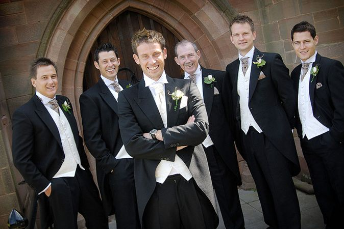 The Groom and the lads