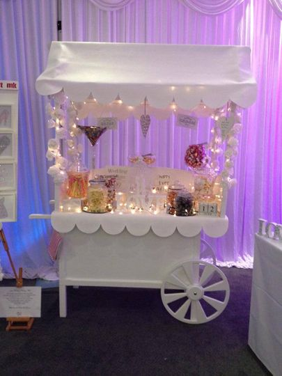 Wedding fair set up