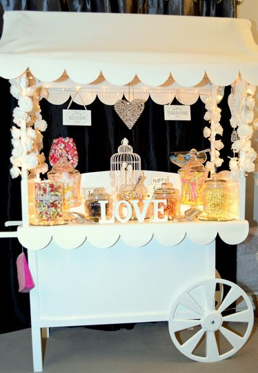 Candy cart you can personalise