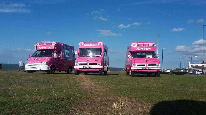 Wedding ice cream van Co