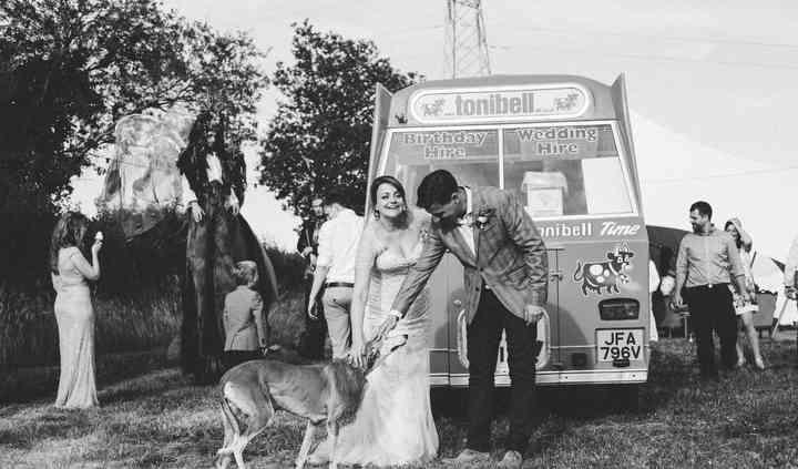 Wedding ice cream caterers