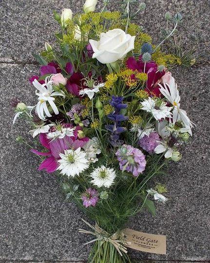 British hand-tied bouquet Milton Keynes
