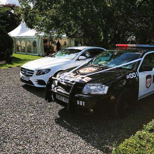 Mercedes E-class & Dodge