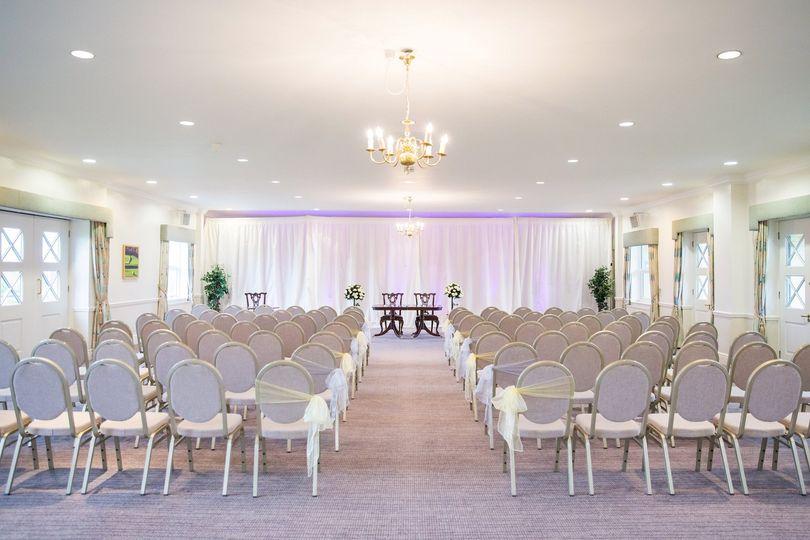 Calder room ceremony
